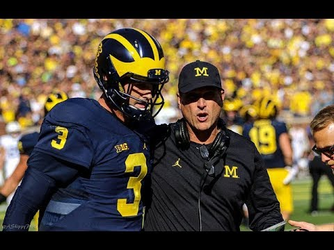 Michigan camp 2017: Wolverines coach Jim Harbaugh says Speight, JOK are top QBs