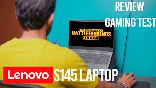 Lenovo S145 Amd Ryzen 3 laptop review,PUBG gaming test.Best budget laptop under 23000 | 2020(part 2)