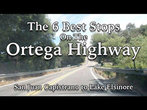 Top 6 Spots To Stop On The Ortega Highway - San Juan Capistrano To Lake Elsinore