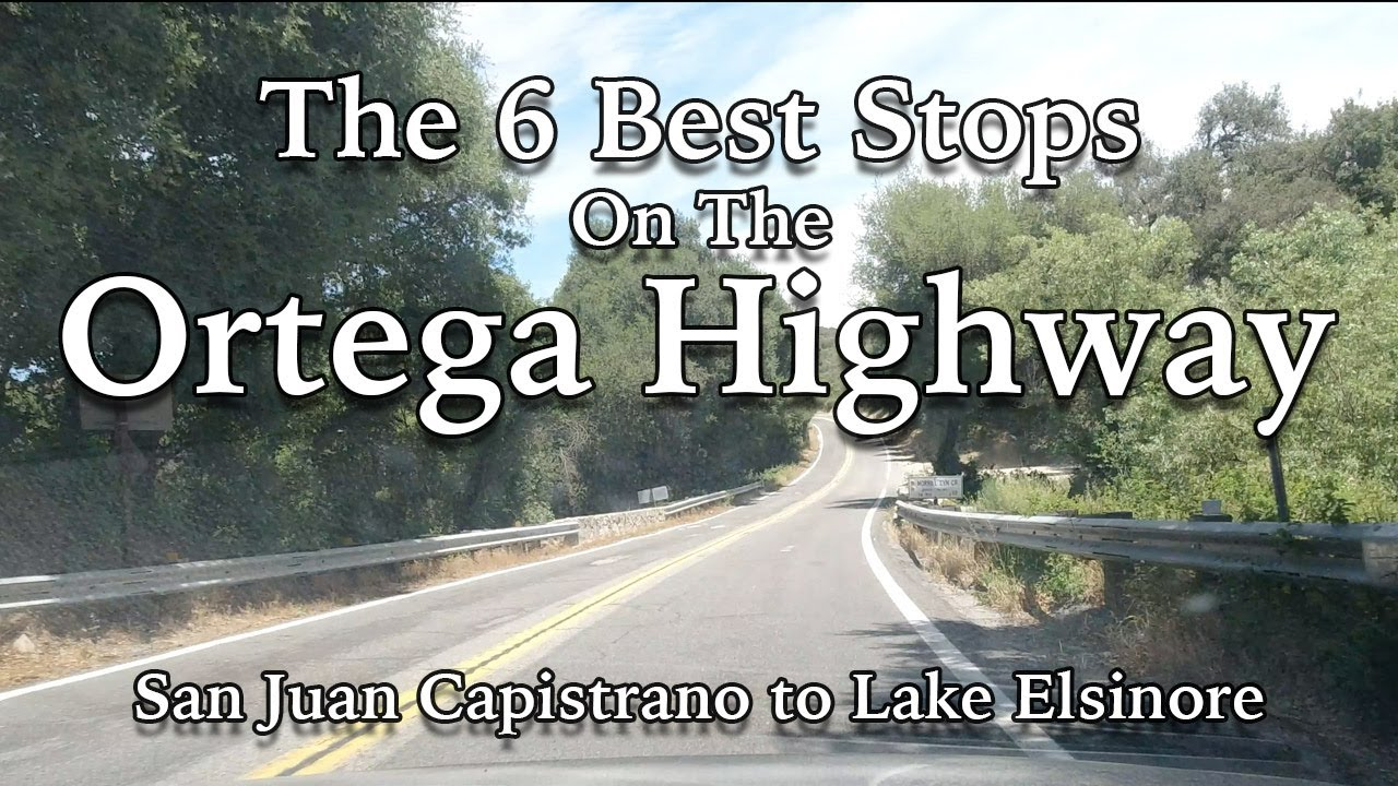 Top 6 Spots To Stop On The Ortega Highway Cathedral City Senior Center