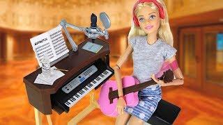 Учительница 💙 Музыки 💙 в Школе Кукла Барби Распаковка Новая Игрушка для девочек