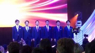 """World Order Live performing """"Blue Boundary"""" at J-Pop Summit 2016"""