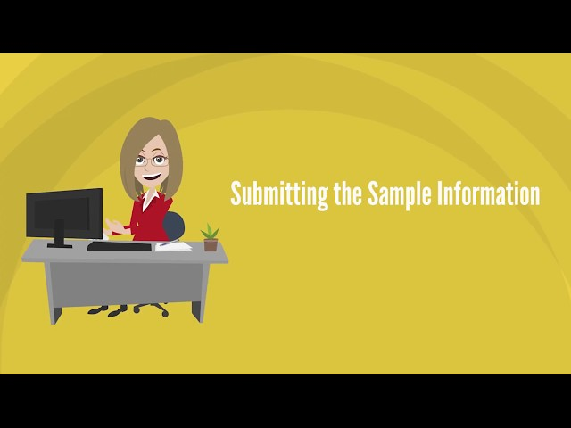 How to Submit Your Sample Online