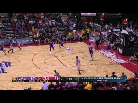 Kay Felder Led the Cavaliers with 25 Points vs. Lakers