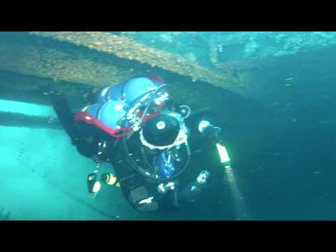 Diving The Thomas Hume Wreck Lake Michigan Chicago 06.06.15