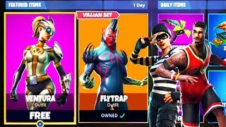 *NEW* SKINS LEAKED in Fortnite! - Flytrap, Ventura, & Lebron James Skins in Fortnite Battle Royale