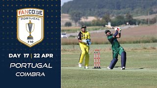 🔴 FanCode Portugal T10, Day 17 | Cricket Live Stream