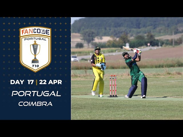 🔴 FanCode Portugal T10, Day 17   Cricket Live Stream
