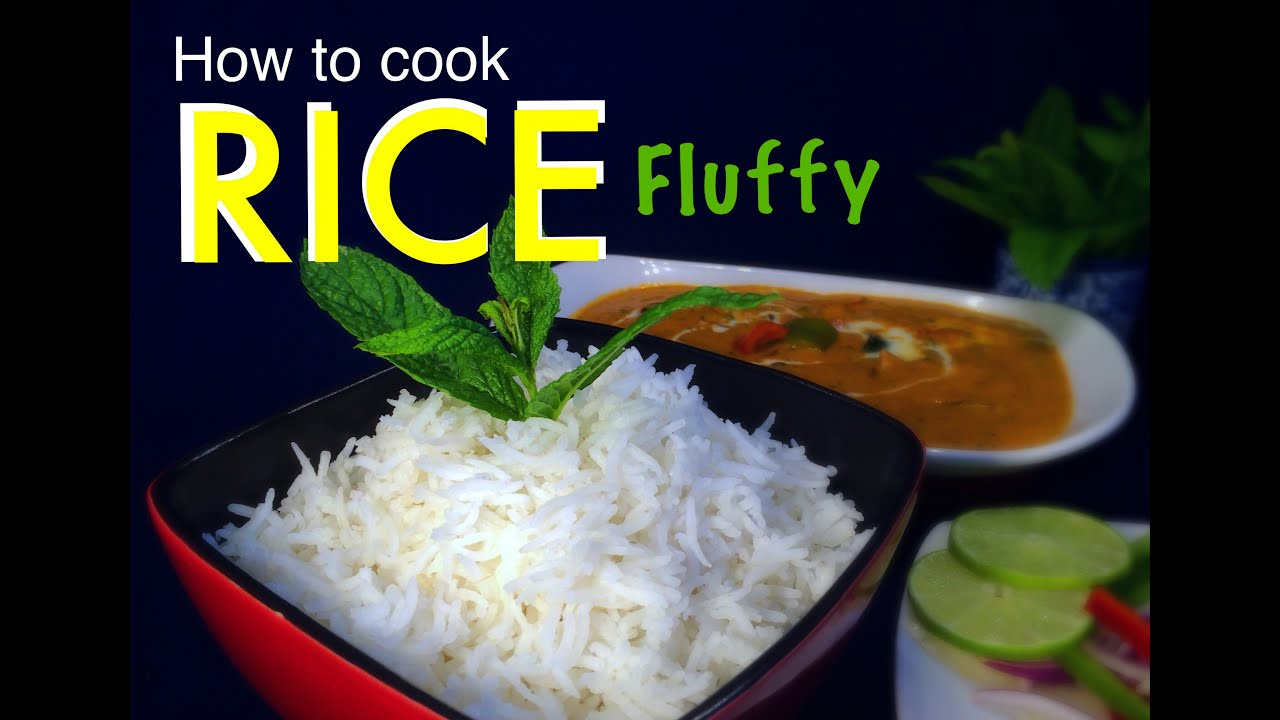 How To Cook Perfect Fluffly Plain Basmati Rice