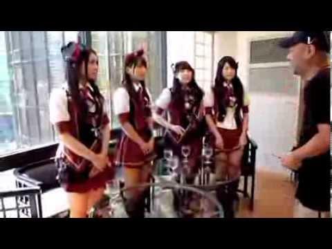 AKB48 Weekly Playboy PhotoShoot Behind the Scenes