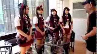 AKB48 Weekly Playboy PhotoShoot Behind the Scenes