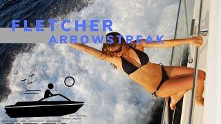 Fletcher 17 Arrowstreak launching from Ridge