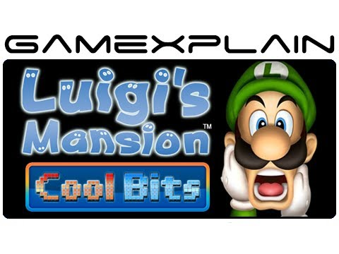 Cool Bits - Luigi's Mansion's Hidden Menu Messages & Totaka 's Song