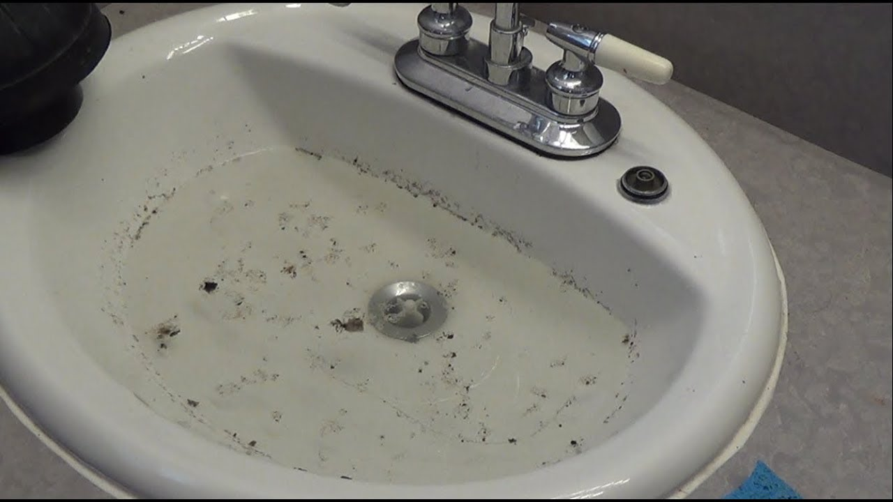 How To Unclog A Bathroom Sink Youtube