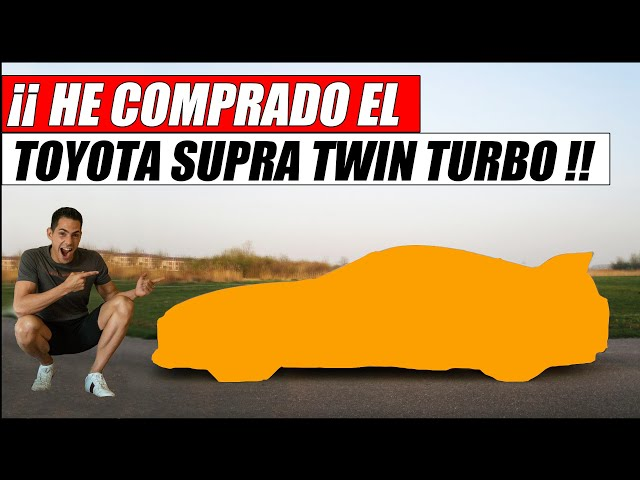 ¡¡ HE COMPRADO EL SUPRA !! | Supercars of Mike