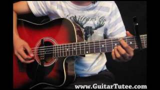 Miley Cyrus - Butterfly Fly Away, by www.GuitarTutee.com