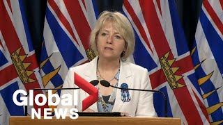 Coronavirus outbreak: B.C. health officials to give COVID-19 update | LIVE