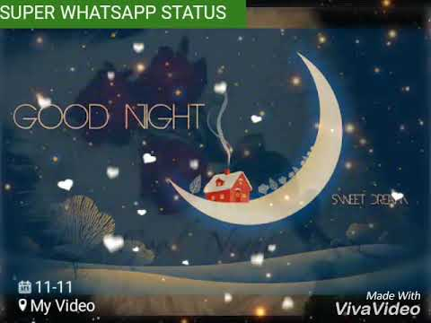 Good Night Whatsapp Status Video 30 Sec Ll Gn Wish Youtube