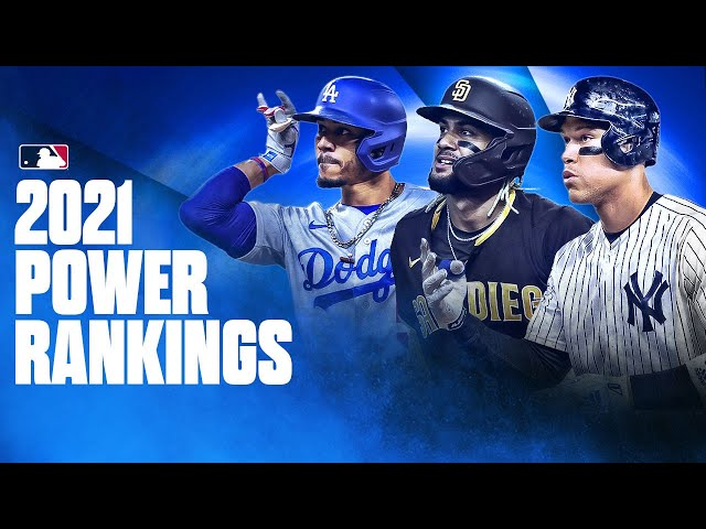 2021 MLB Power Rankings (2021 Preseason)