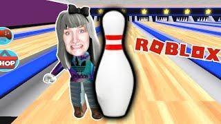 Roblox: BOWLINGBAHN ENTKOMMEN - Nina von Bowlingkugeln platt gemacht - Escape Bowling Alley Obby