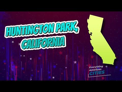 Huntington Park, California ⭐️🌎 AMERICAN CITIES 🌎⭐️