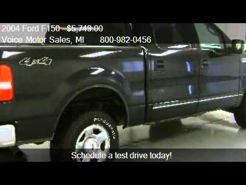 2004 ford f150 xlt 4x4 for sale in kalkaska mi 49646