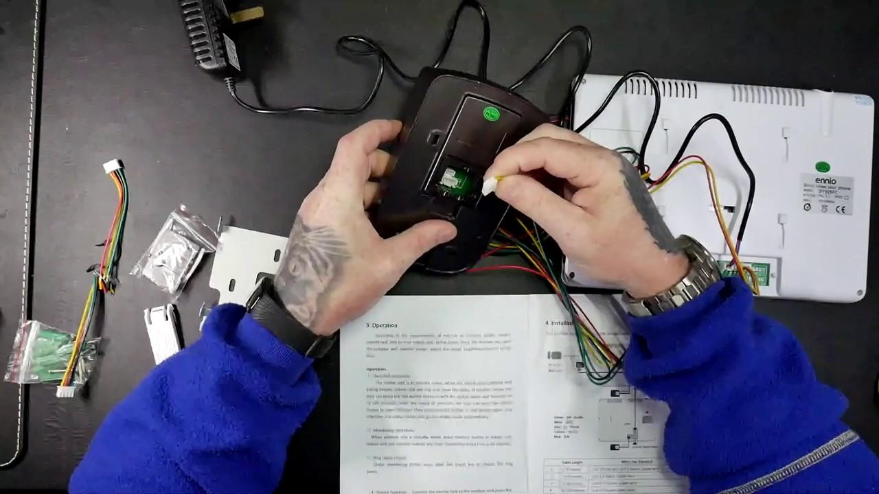 Techchecker124 Kkmoon Video Doorbell 9 Color Lcd Door Phone The Link Telephone Intercom Every Home Should Have One Circuit Unlock