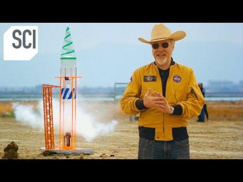 Can Adam Savage's Farts Fuel a Small Rocket? | MythBusters Jr.