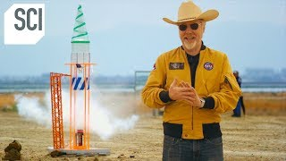 Can Adam Savage's Farts Fuel a Small Rocket? | MythBusters Jr.