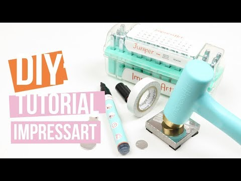 ImpressArt | Metall Stempel Basis Technik Tutorial