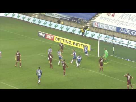 HIGHLIGHTS: Wigan Athletic 2 Ipswich Town 3 - 17/12/16