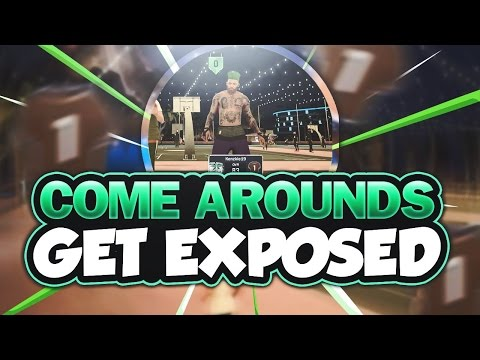 COME AROUND NOOBS KEEP GETTING EXPOSED - NBA 2K17