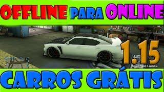 GTA V Online 1.15 - Glitch Como Trazer Carros do Offline pro Online | Carros grátis (SOLO)