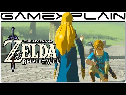 Zelda: Breath of the Wild - All Recovered Memories Cutscenes