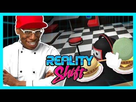 VR FAST FOOD RACE! (Reality Shift)