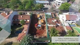 Avance de Obra mes de Noviembre 2020  - Edificio FORVM Molas López