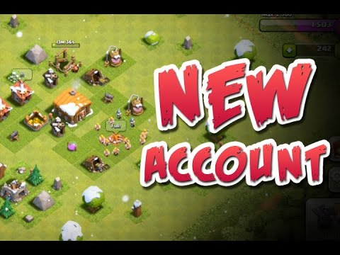 Clash Of Clans Let's Play | New Clash Of Clans Account
