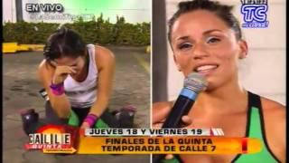Fernanda Gallardo se despide de Calle 7