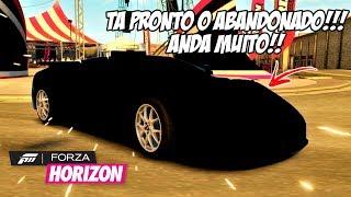 FORZA HORIZON 1 #7 - O BUGATTI ABANDONADO FICOU PRONTO!! ANDA MUITO!!