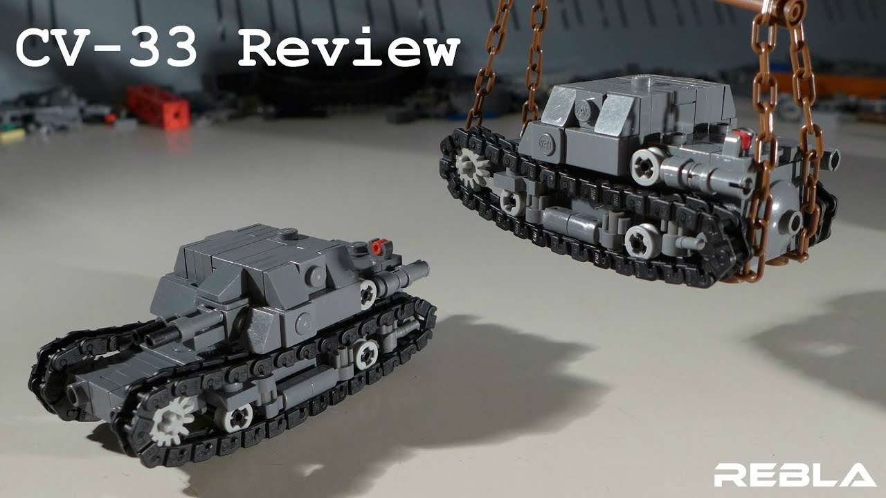 lego ww2  cv-33 review