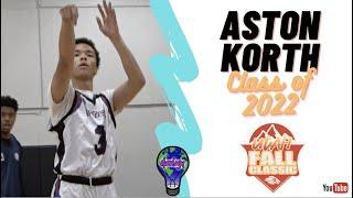 6'4 G Aston Korth - DIFFERENT 2022 - WCE Utah Fall Classic