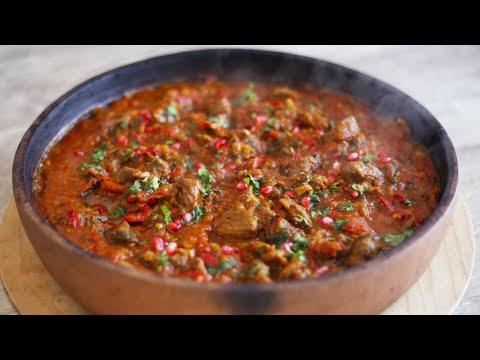 ЧАШУШУЛИ - восхитительное блюдо с говядиной. Голодным не смотреть! Говядина тушеная с овощами.