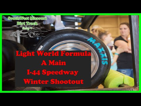 Light World Formula A Main  I 44 Speedway Winter Shootout 1 20 2018