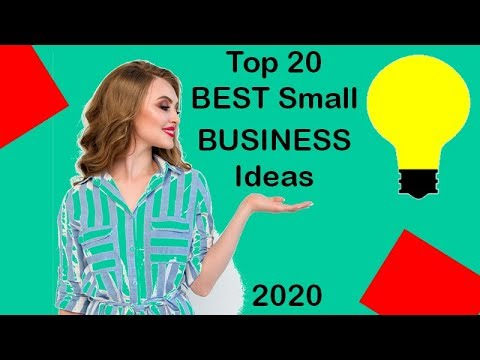 Best Small Business Ideas 2020.Best Small Business Ideas For 2020 Top 20 Youtube