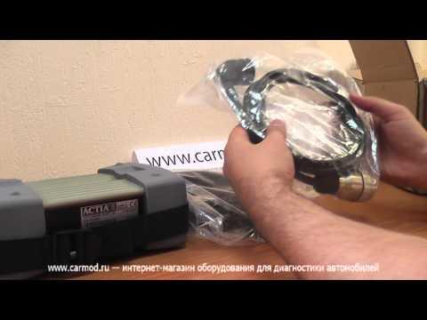 Обзор автосканера Mercedes Star Diagnosis (Compact 3)