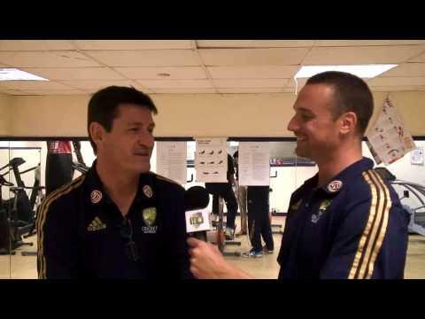 Meet the Team Manager - Stuart Clark with Stephen Bernard