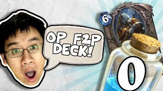 UNDEFEATED w/ 0 DUST + GENN F2P DECK! | Constructed | The Boomsday Project | Hearthstone