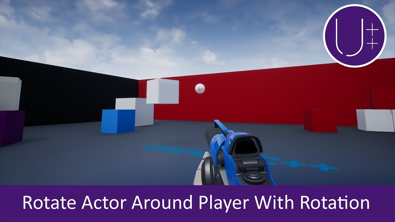 Unreal C++ | Rotate Actor Around Player