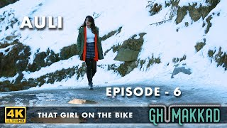 THAT GIRL ON THE BIKE S1 | EP 6 |4K |CAN GIRLS TRAVEL ALONE IN INDIA| 2019