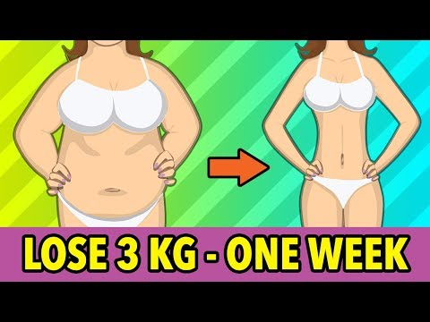 Lose 3 Kg In One Week – Home Weight Loss Exercises